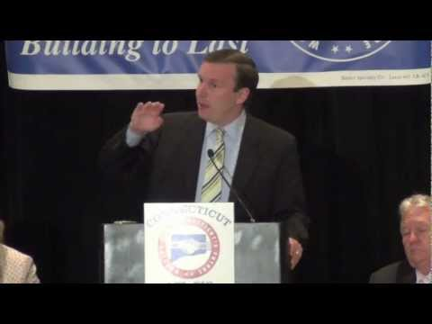Chris Murphy addresses the Connecticut AFL-CIO annual conference