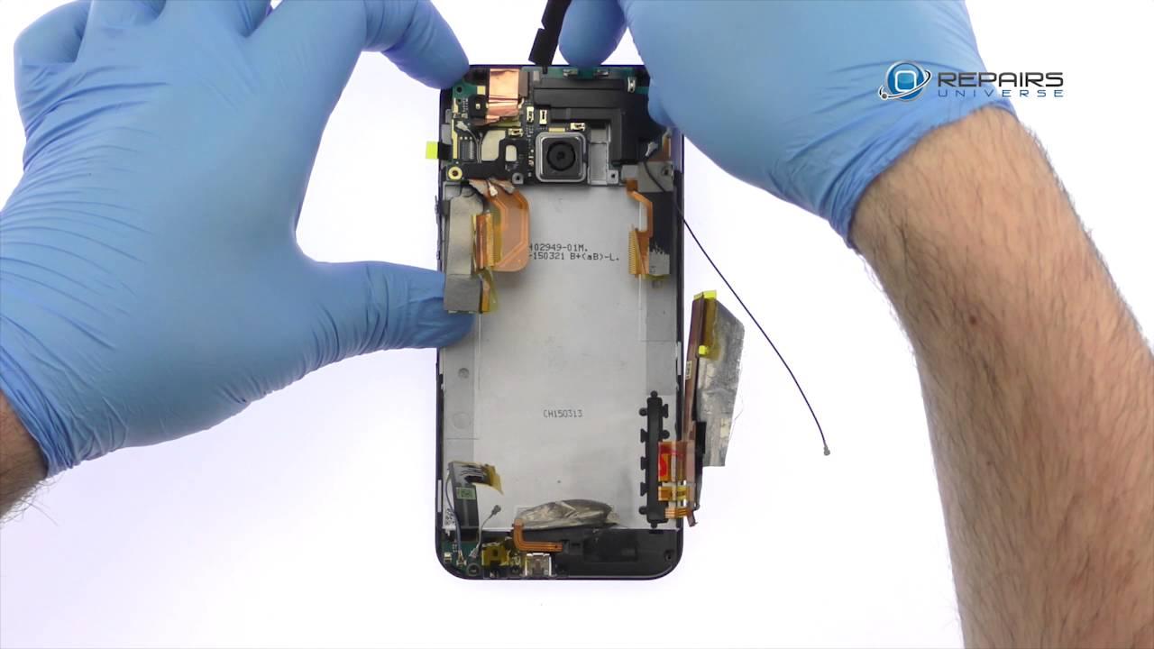 HTC One M9 - Замена задней и передней камеры