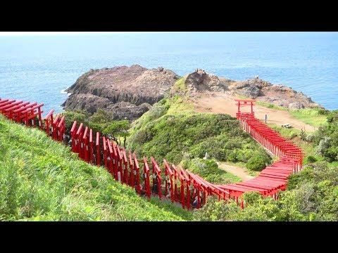CNNで注目され観光客激増!絶景の元乃隅稲成神社