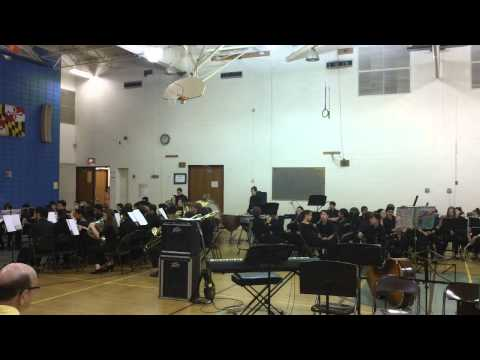 HHMS CONCERT BAND Secret Agent Man by P.F. Sloan and Steve Barri arr. Anne McGinty