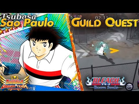 [Tomate News] Tsubasa Sao Paulo Mañana - Guild Quest Bleach