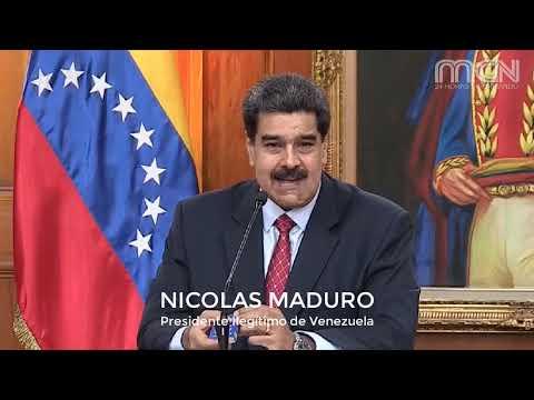Maduro dice que Colombia solo puede donar cocaína