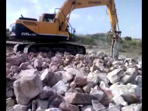 hyundai excavator R220LC