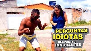 Baixar PERGUNTAS IDIOTAS E RESPOSTAS IGNORANTES