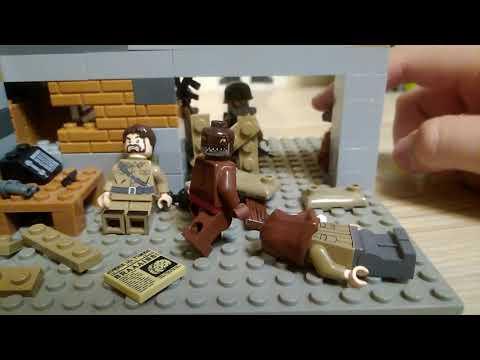 Лего самоделка метро 2033!! (Библиотека!!)!!!