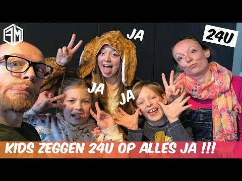 24U Zeggen De Kids Op ALLES JA!!! - Familie Meerschaert Vlog