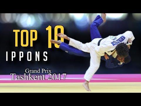 TOP 10 IPPONS | Grand Prix Tashkent 2017 | JudoHeroes