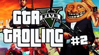 GTA 5 Online Trolling #2 (The Terminator, Robbing Robbers and Store Trapping)
