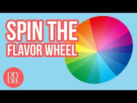 The Random DIY E-liquid Recipe Wheel