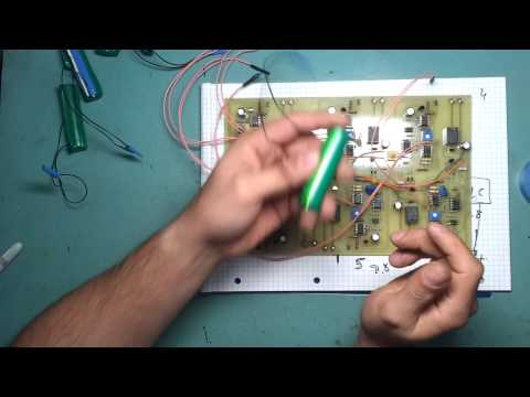 Lithium battery powered lab power supply part 1