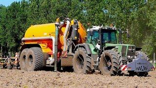 Slurry Injection | Fendt 926 vario + Veenhuis Profi 22000 tandem tank | W. Meulepas Mill