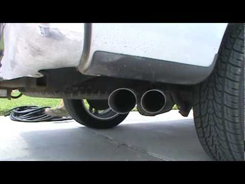 99 Ford F 150 True Dual Borla Pro Xs Exhaust Youtube