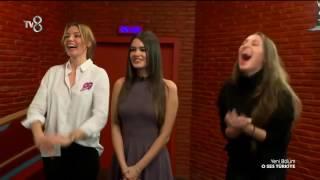 O Ses Türkiye Yarışmacı Acun Ilıcalı fark edemeyince Stüdyoda kahkaha dolu anlar!