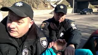 Поліція Житомира беспредел