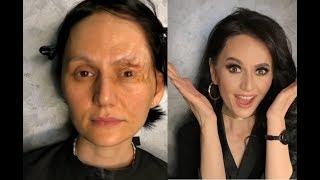 ДО И ПОСЛЕ (ч. 4)  Чудеса макияжа  Нереальное перевоплощение.