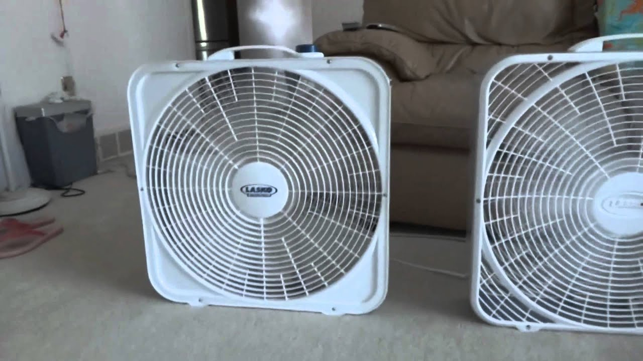 My Portable Fan Collection Youtube