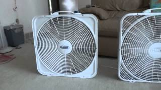 My Portable Fan Collection