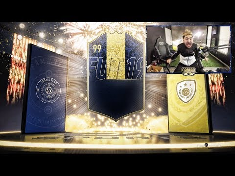 TOTY AND ICON IN A PACK!! YOU WON'T BELIEVE THIS!! FIFA 19