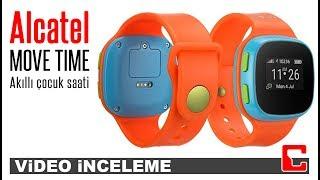 Alcatel Move Time İnceleme - Çocuklar için akıllı saat