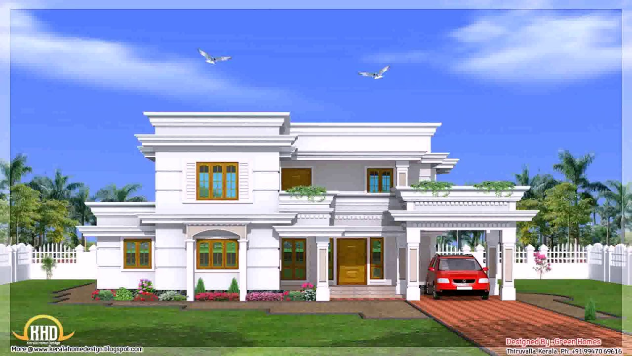 5 Bedroom House Plans 2 Story Kerala