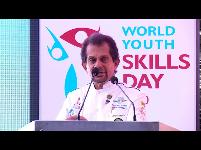 WORLD YOUTH SKILLS DAY 2020 | CHEF JERAD MENDIS