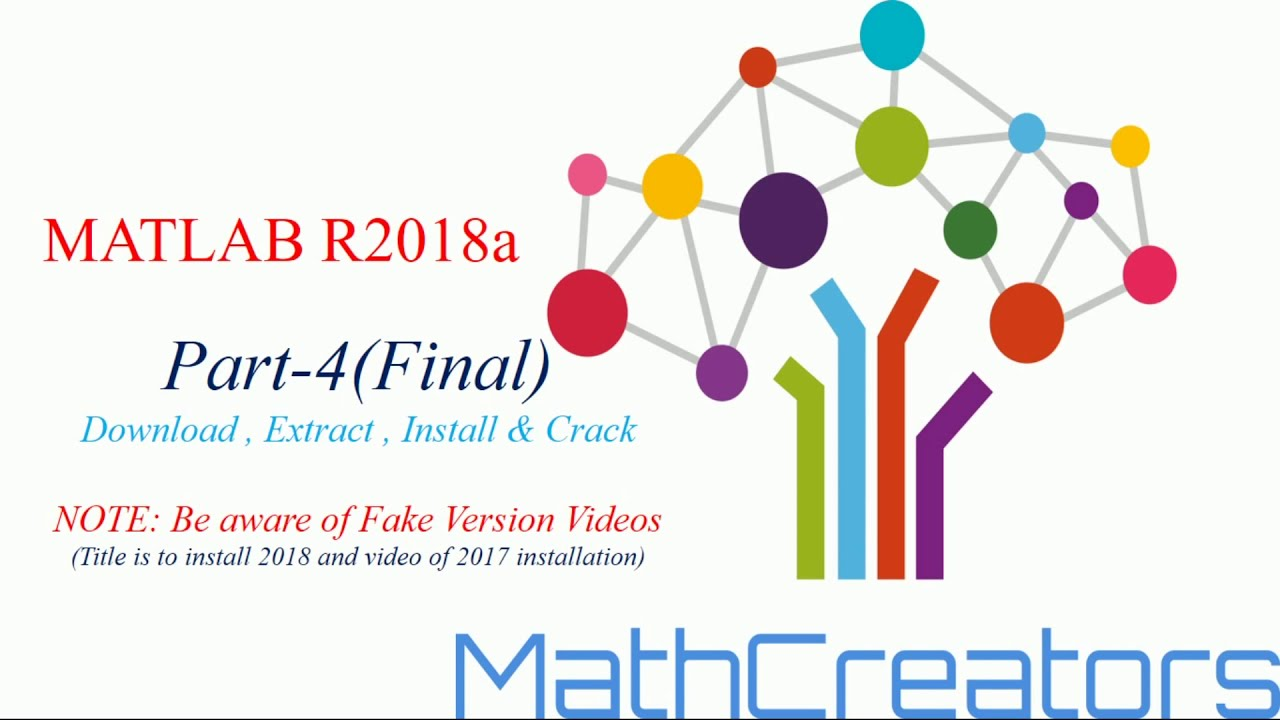 MATLAB 2018a : How to download, install and Full crack 2018a:PART-4