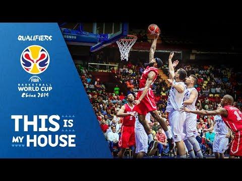 Panama vs. Paraguay - FIBA Basketball World Cup 2019 - American Qualifiers