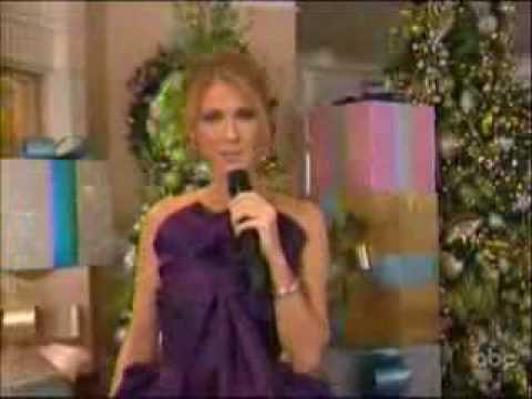 YouTube- Celine Dion Don't Save it All For Christmas Day Live @ DisneyLand Christmas.flv - YouTube