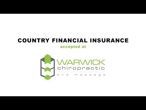 Warwick Chiropractic & Massage Accepts Country Financial Insurance