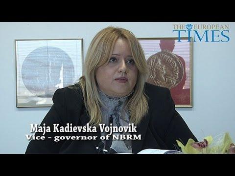 Maja Kadievska Vojnovik, Vice-Governor of NBRM   Macedonia