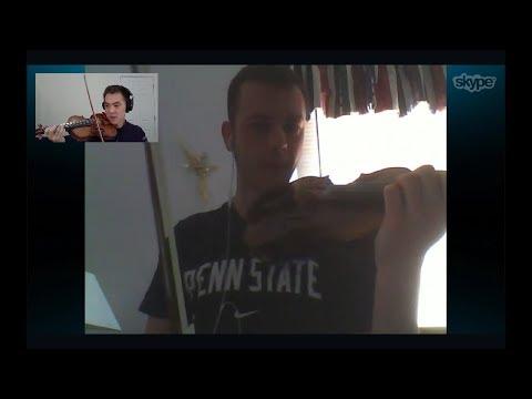 Skype Lesson: The Devil Went Down to Georgia