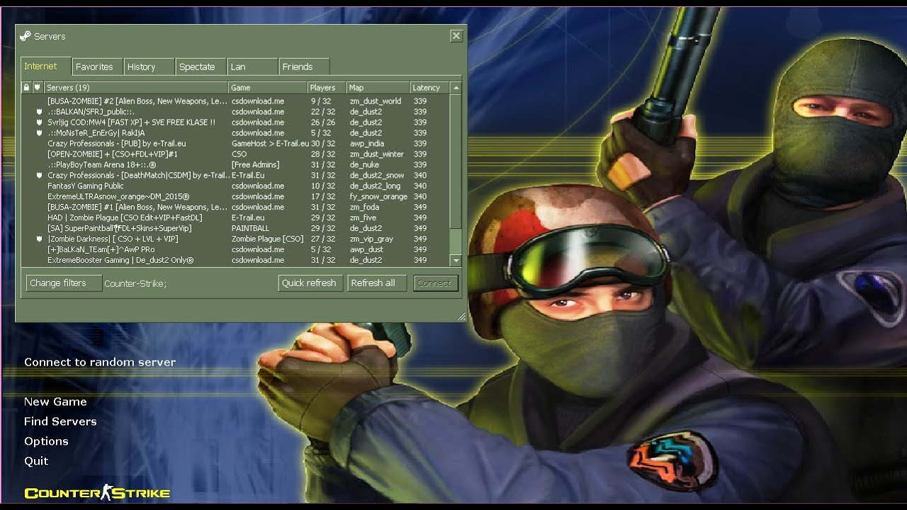 counter strike free online game 1.6