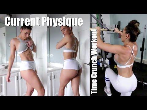 Physique Update | Full Upper Body INTENSE Workout Season 2 Vlog 54