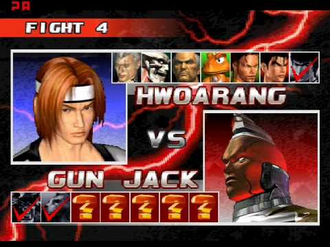 Tekken 3: 8 V 8 Team Battle Game Play