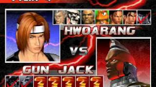 Tekken 3: 8 V 8 Team Battle Game Play