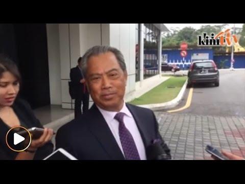 """""""Polis minta datang Bukit Aman, mungkin minggu depan,"""" dedah Muhyiddin"""
