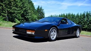 Time Machine Test Drive: 1988 Ferrari Testarossa
