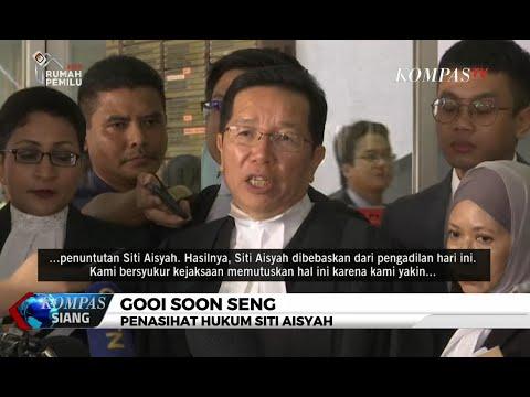 Siti Aisyah, Terdakwa Pembunuhan Kim Jong-Nam Bebas