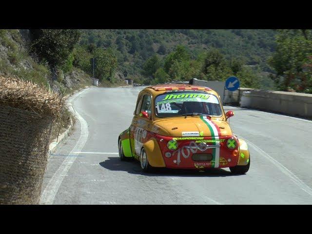 SVOLTE DI POPOLI 2018 JONNY D'AGOSTINO FIAT 500