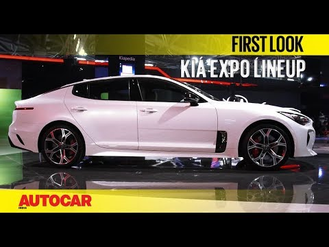 Kia Cars At The Auto Expo 2018 | Autocar India