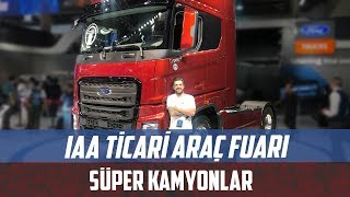 IAA Commercial Vehicle Fair | Super trucks and rigs