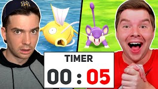 Catch Your Pokémon Before Time Runs Out