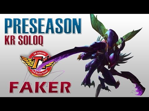 SKT T1 Faker - Kha