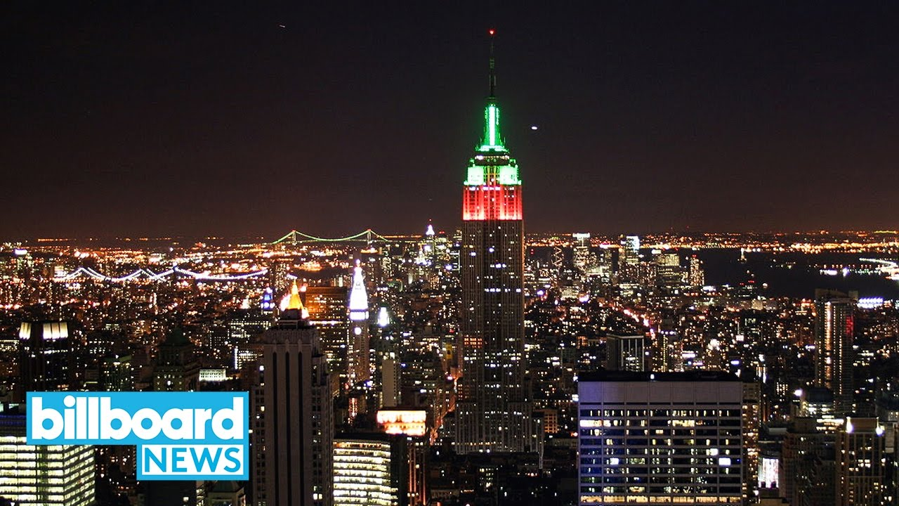 Mariah Carey Lights Up NYC Skyline With Empire State Building ...