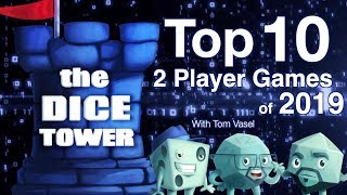 Top 10 Two Player Games of the Year - with Tom Vasel