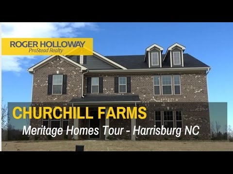 Churchill Farms from Meritage Homes in Harrisburg NC
