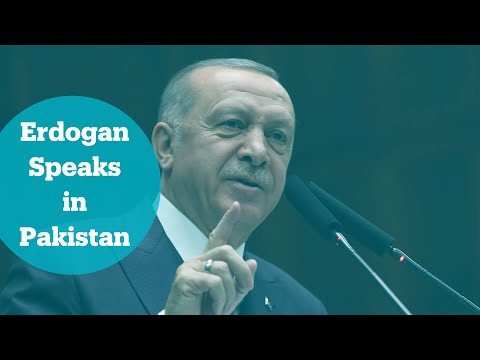 Turkey's President Erdogan Addresses Pakistan-Turkey Business Forum