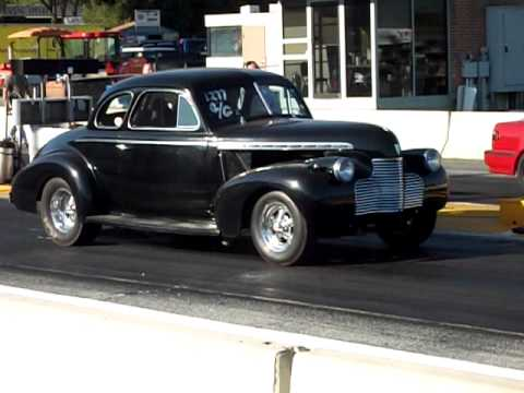 Dreyer 40 Chevy Coupe at Mason Dixon Dragway
