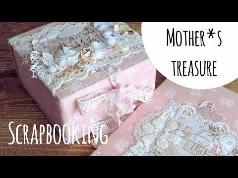 МИНИ ОБЗОР: Мамины сокровища и папка для свидетельства о рождении / Скрапбукинг