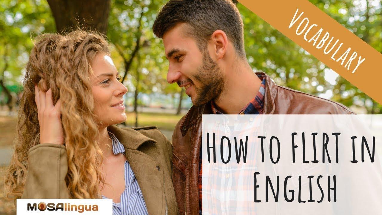 se flirter en anglais
